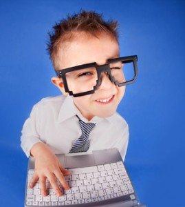 5yr old geeky kid