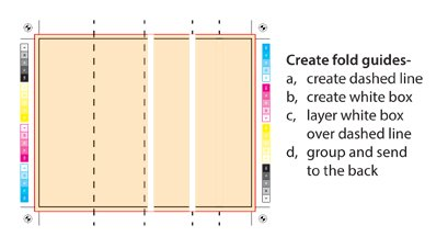 how to create fold guides