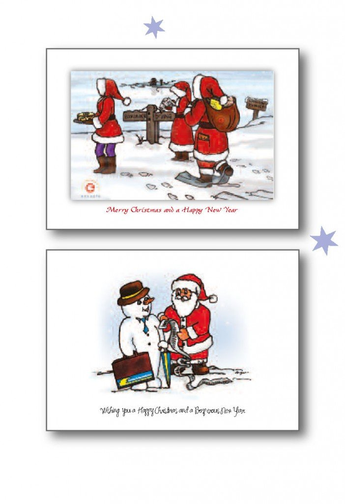 bespoke christmas cards