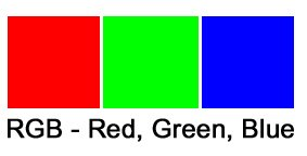 colours for RGB screens