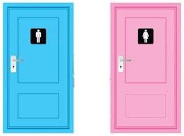 toilet doors - logos are just symbols